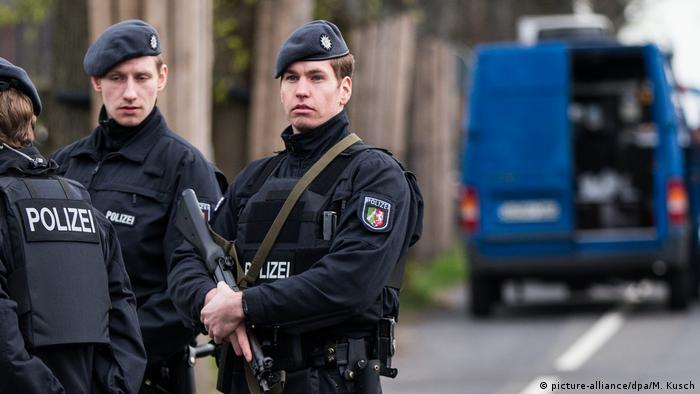 Полицейское оцепление (Фото из архива)