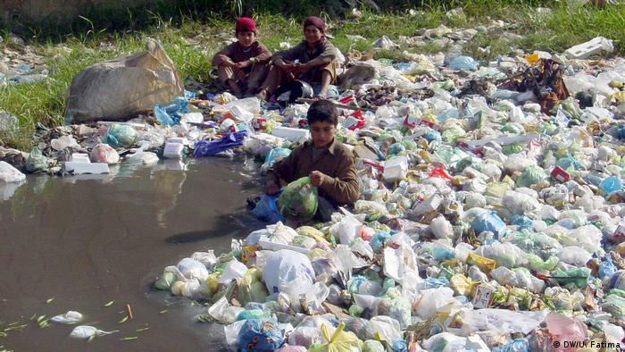 Pakistan Straßenkinder