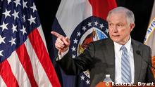 USA Jeff Sessions Rede in St. Louis