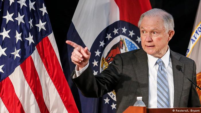 USA Jeff Sessions Rede in St. Louis (Reuters/L. Bryant)