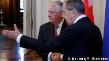 USA Russland Tillerson bei Lawrow