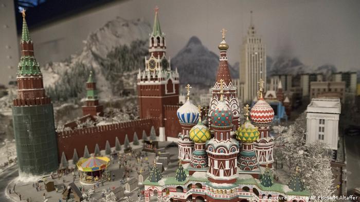 Gullivers Gate Kreml Russland Modell