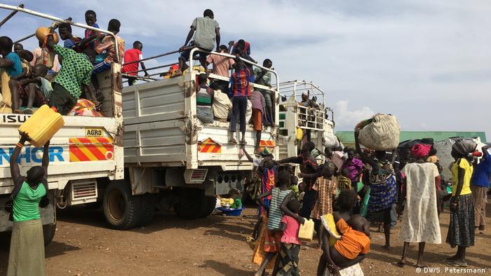 Manuela - Flucht aus dem Südsudan in die Dürre (DW/S. Petersmann )