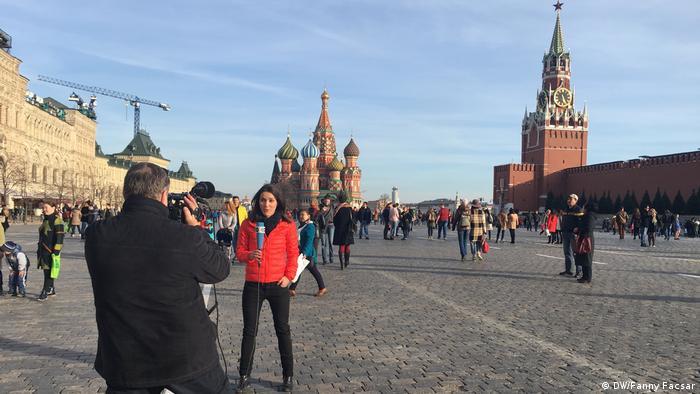 Russland Fanny Facsar in Moskau