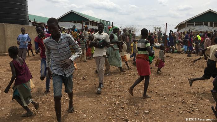 Flüchtlinge aus dem Südsudan in der Turkana im Norden Kenias (DW/S.Petersmann)