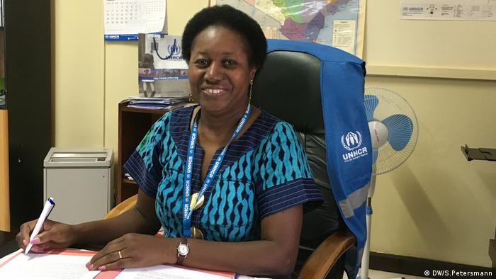 Honorine Sommet-Lange, Leiterin UNHCR in Kakuma (DW/S.Petersmann)