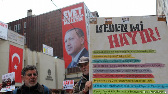 Nein zu Erdogan Istanbul