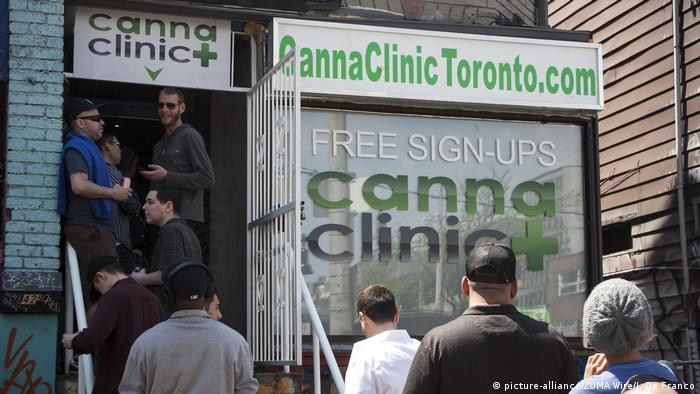 Kanada Toronto Marijuana Dispensary (picture-alliance/ZUMA Wire/J. De Franco)