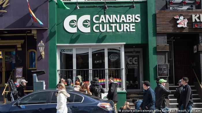 Магазин розничной торговли марихуаной в Торонто