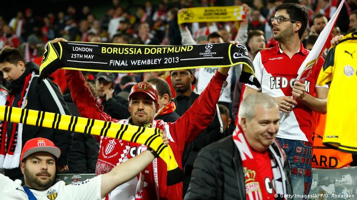 Dortmund Monaco Fans (Getty Images/AFP/O. Andersen)