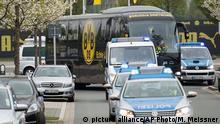Deutschland Dortmund vor dem Spiel