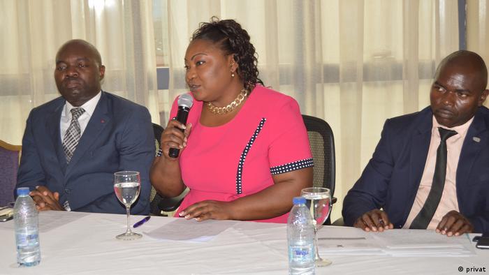 Kamerun Vorstellung des Projekts Lost dreams