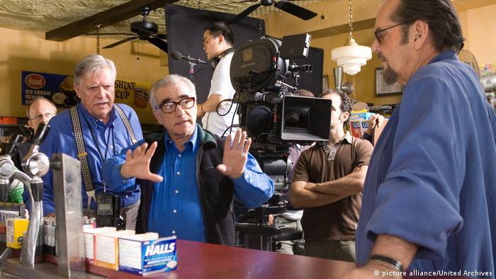 USA Departed - Unter Feinden   Scorsese Ballhaus und Nicholson (picture alliance/United Archives)