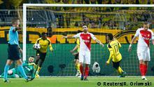 Deutschland Borussia Dortmund v AS Monaco | Tor