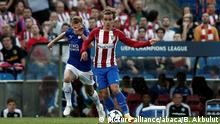 "Champions League Atletico Madrid vs.€"" Leicester City"