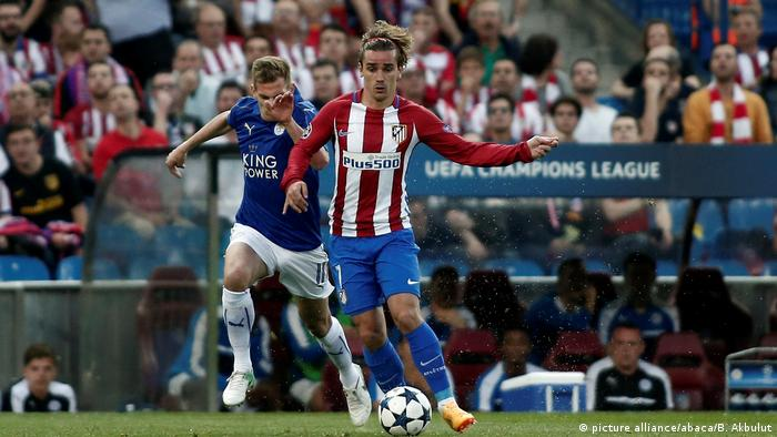 "Champions League Atletico Madrid vs.€"" Leicester City (picture alliance/abaca/B. Akbulut)"