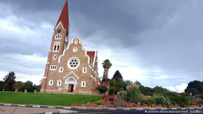 Namibia Christuskirche in Windhuk (picture alliance/Jazzarchiv/I. Schiffler)