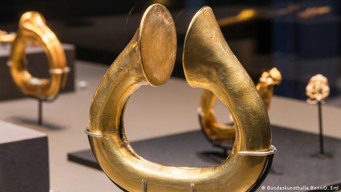 Золотые браслеты из гробницы эламских принцесс