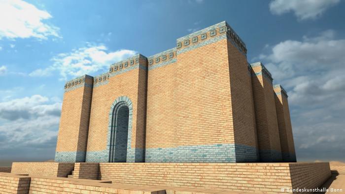 Так выглядел построенный в XXI веке до н. э. храмовый комплекс- Большой зиккурат - в Уре.