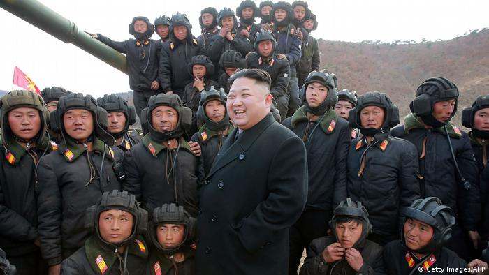 Nordkorea Machthaber Kim Jong Un (Getty Images/AFP)