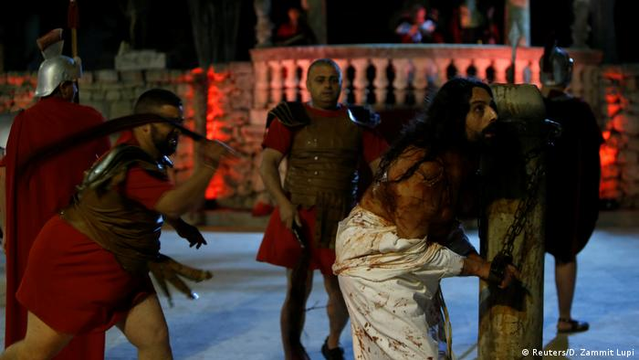 Osterbräuche weltweit Malta (Reuters/D. Zammit Lupi)