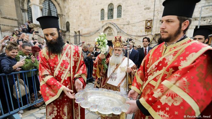 Osterbräuche weltweit in Jerusalem (Reuters/A. Awad)