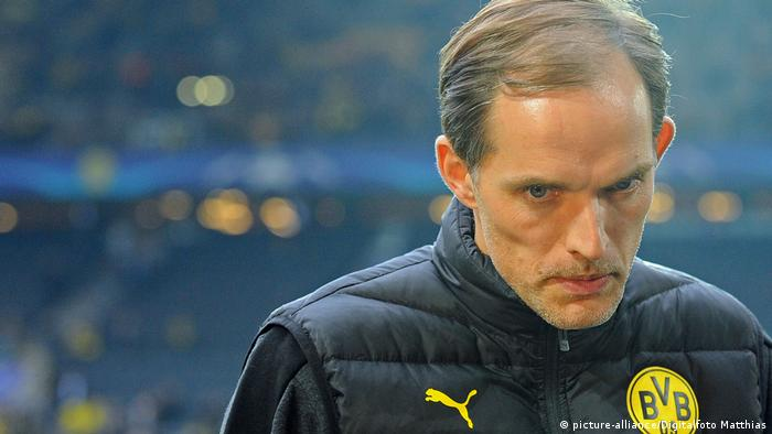 Champions League - Borussia Dortmund v AS Monaco - Thomas Tuchel (picture-alliance/Digitalfoto Matthias)