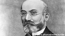 Portrait of L. L. Zamenhof (1859-1917) creator of Esperanto, the world's most successful constructed language, and a physician by profession. Dated 1908   Verwendung weltweit