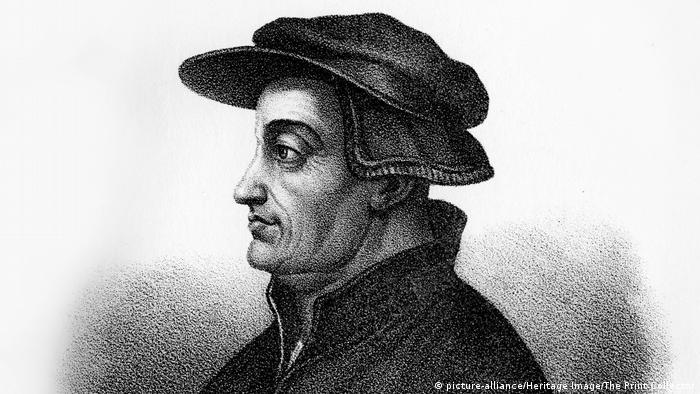 O reformador Ulrich Zwingli