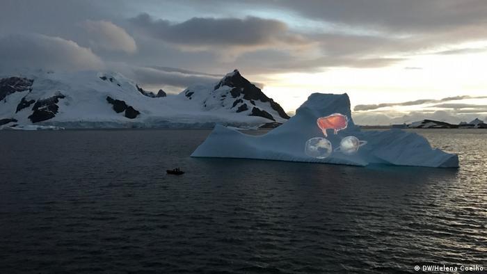 Antarctic Biennale 2017 | Alexis (DW/Helena Coelho)