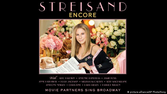 CD-Cover Encore: Movie Partners Sing Broadway with Barbra Streisand (picture-alliance/AP Photo/Sony)