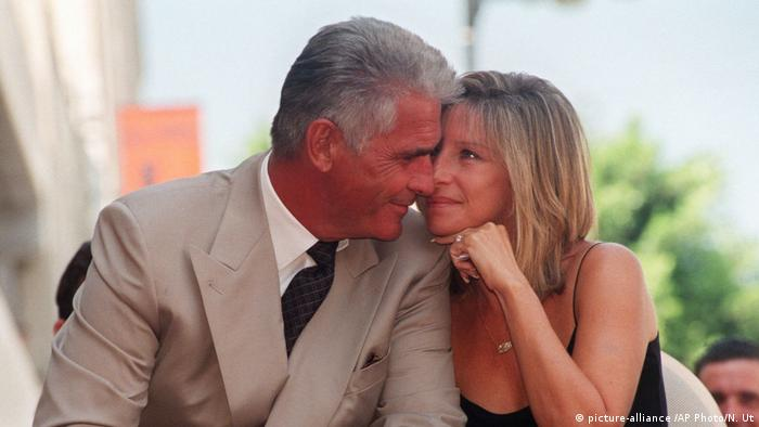 James Brolin and Barbra Streisand (picture-alliance /AP Photo/N. Ut)