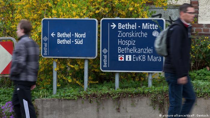 Deutschland Bethel-Einrichtungen Zionskirche (picture-alliance/dpa/F. Gentsch)