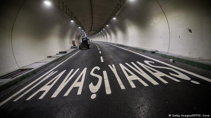 Türkei Der Eurasien-Tunnel in Istanbul (Getty Images/AFP/O. Kose)