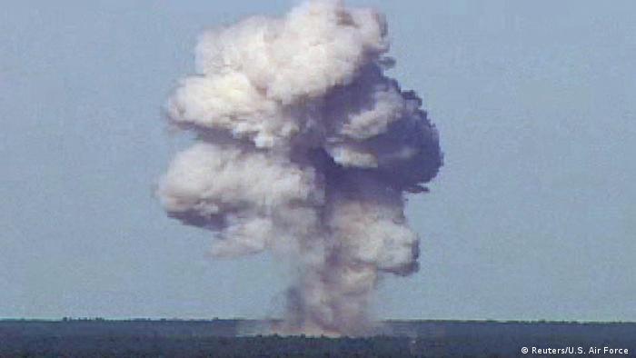USA Bombe GBU-43/B in Florida