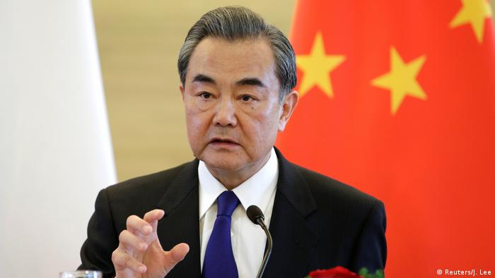 Chinas Außenminister Wang Yi in Beijing (Foto: Reuters/J. Lee)