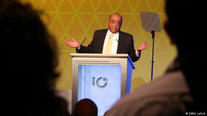 Sudanese billionaire and philanthropist Mo Ibrahim