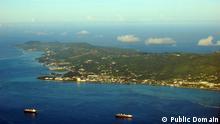 Aerial view of Saipan, Northern Mariana Islands Quelle: https://de.wikipedia.org/wiki/Saipan#/media/File:Saipan.jpg