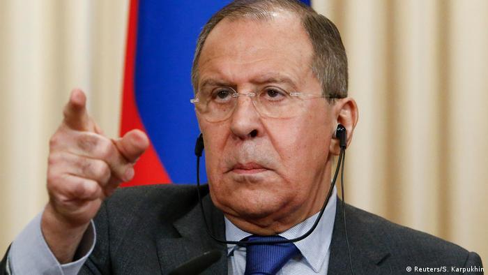 Russland Treffen von Lavrov, Javad Zarif und Muallem in Moskau