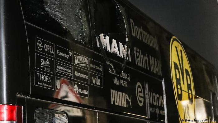 Dortmund - Explosion an BVB Bus (Getty Images/M. Hitji)