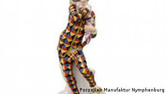 Porzellan Manufaktur Nymphenburg Porzellanfigur Mezzettino