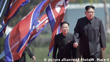 Nordkorea Kim Jong Un mit Choe Ryong Hae