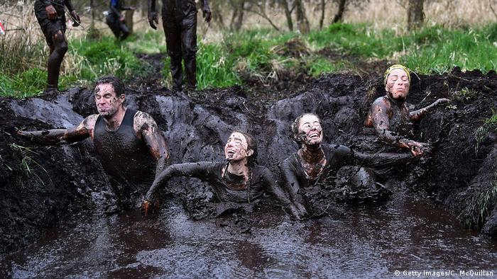 Nordirland Schlammlauf McVities Mud Madness (Getty Images/C. McQuillan)