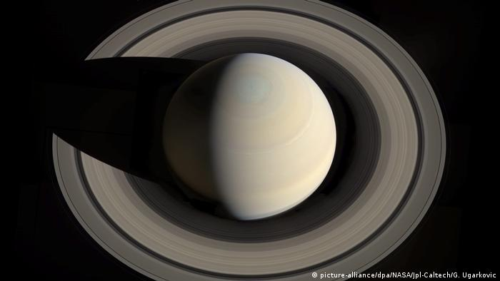 Raumsonde Cassini Saturn Ringe (picture-alliance/dpa/NASA/Jpl-Caltech/G. Ugarkovic)