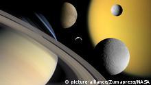 Raumsonde Cassini Saturnmond Enceladus