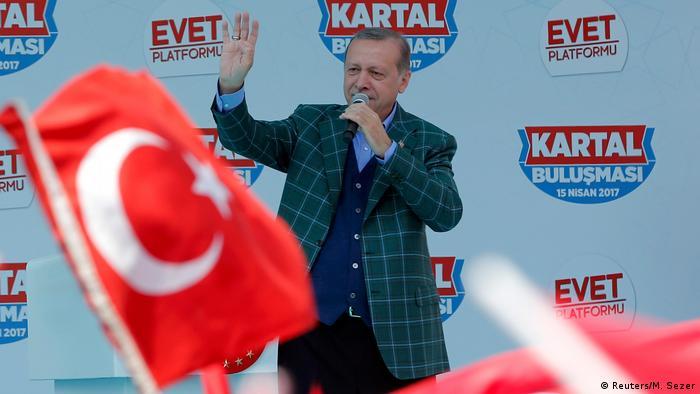 Türkischer Präsident Tayyip Erdogan (Reuters/M. Sezer)