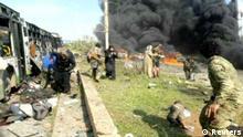 Mindestens 16 Tote bei Bombenanschlag auf Busse in Syrien