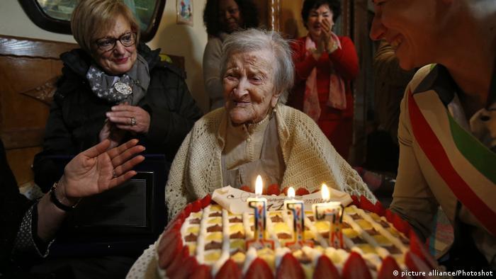 Italien Emma Morano im Alter von 117 gestorben (picture alliance/Photoshot)