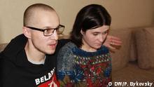 Der weißrussische Oppositionelle Dmitry Daschkewitsch. Foto: DW / Pavlyuk Bykovsky