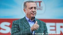Türkei Istanbul Erdogan Referendum Wahlkampf
